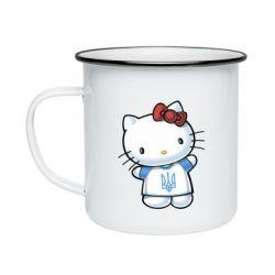 Кружка эмалированная Hello Kitty UA