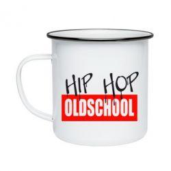 Кружка емальована Hip Hop oldschool