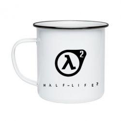 Кружка эмалированная HL - FatLine