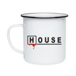 Кружка емальована House