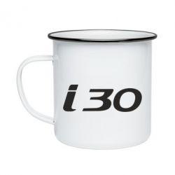 Кружка эмалированная HYUNDAI i30