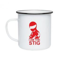 Кружка эмалированная I am the Stig - FatLine