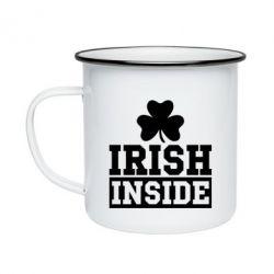 Кружка эмалированная Irish Inside
