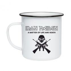 Кружка эмалированная Iron Maiden - FatLine