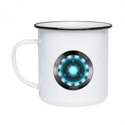 Кружка эмалированная Iron Man Device