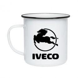 Кружка эмалированная IVECO