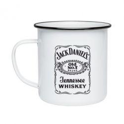 Кружка емальована Jack daniel's Whiskey