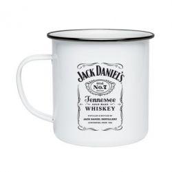 Кружка эмалированная Jack Daniel's