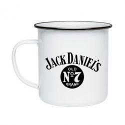Кружка эмалированная Jack