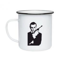 Купить 007, Кружка эмалированная James Bond, FatLine
