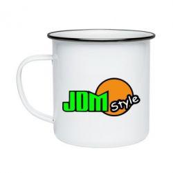 Кружка емальована JDM Style
