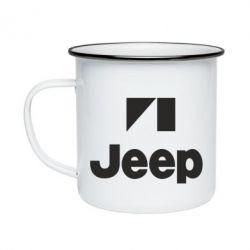 Кружка эмалированная Jeep Logo