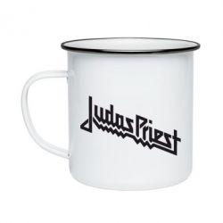 Кружка емальована Judas Priest Logo