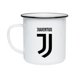 Кружка эмалированная Juventus Logo