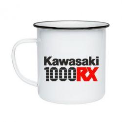 Кружка емальована Kawasaki 1000RX