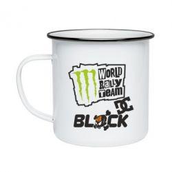 Кружка емальована Ken Block Monster Energy
