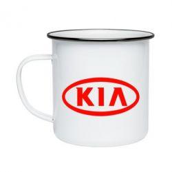 Кружка емальована KIA Small