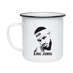 Кружка эмалированная King James - FatLine