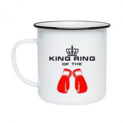 Кружка эмалированная King Ring - FatLine