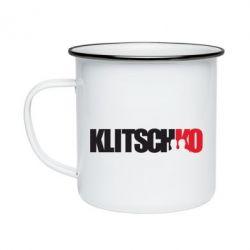 Кружка емальована Klitschko