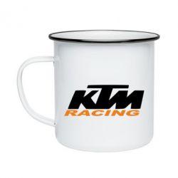 Кружка емальована KTM Racing - FatLine
