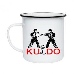 Кружка эмалированная Kudo Fight