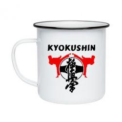 Кружка эмалированная Kyokushin