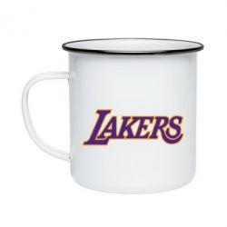 Кружка эмалированная LA Lakers - FatLine