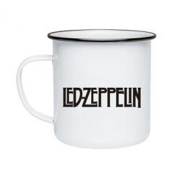 Кружка емальована Led Zeppelin