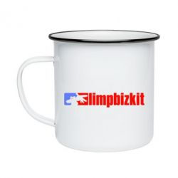 Кружка емальована Limp Bizkit