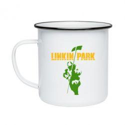 Кружка эмалированная Linkin Park Album