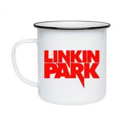 Кружка емальована Лінкін Парк