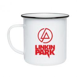 Кружка эмалированная Linkin Park - FatLine