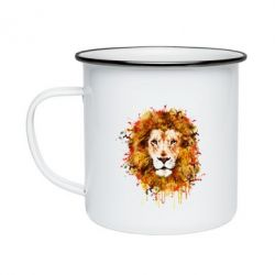 Кружка емальована Lion Art - FatLine