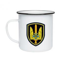 Кружка эмалированная Логотип Азов