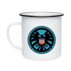 Кружка эмалированная Логотип Щита