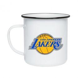 Кружка емальована Los Angeles Lakers