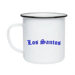 Кружка емальована Los Santos