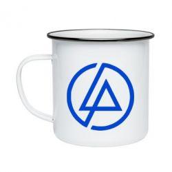 Кружка эмалированная LP logo