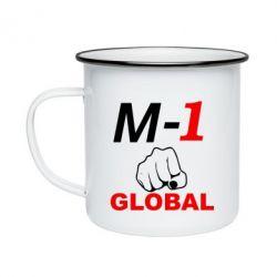 Кружка эмалированная M-1 Global