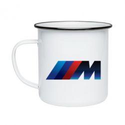 Кружка емальована M Power Art