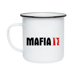 Кружка эмалированная Mafia 2
