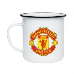 Кружка емальована Манчестер Юнайтед
