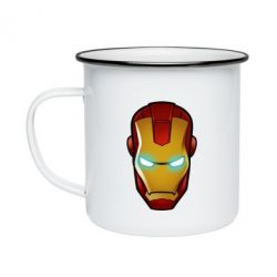 Кружка эмалированная Маскаа Железного Человека