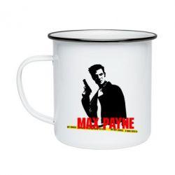 Кружка емальована Max Payne