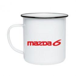 Кружка эмалированная Mazda 6