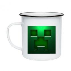 Кружка эмалированная Minecraft Face