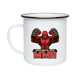 Кружка емальована MMA Fighter 2