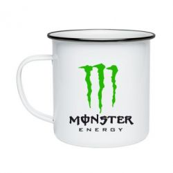 Кружка емальована Monster Energy Classic