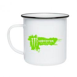 Кружка емальована Monster Energy Drink